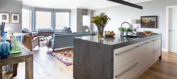 Larkin kitchen showing view - Ogilvy Chalmers